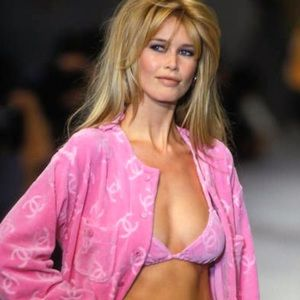 Iconic Chanel Vintage Spring 1996 Pink Velour Top
